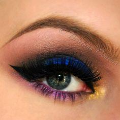 @sugarpillmakeup Royal Sugar, Goldilux, & Hysteric Loose Eyeshadows. @House of Lashes Femme Fatale Eyelashes. - @brittanycouturexo