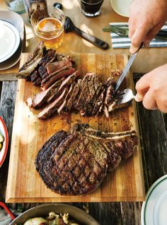 cote de boeuf with caramelized shallots recipes dishmaps cote de boeuf ...