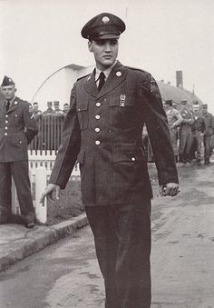 Arrival of Private Presley at Ray Barracks in Friedberg, Germany on Thursday, October 2nd, 1958