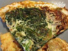 Omelete de Claras e Espinafres
