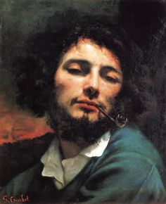Gustave Courbet - Self-Portrait 1848-49 Oil on canvas, 45 x 37 cm Musée Fabre, Montpellier