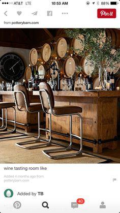Wine tasting room design