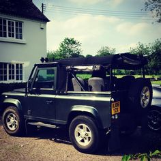 Land Rover Defender 90 Td5. Soft top. Seat rear. Nice.