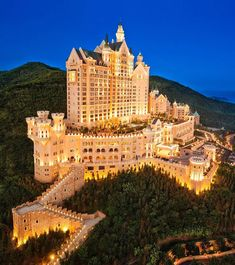 Castle Hotel in China.                                                                                                                                                                                 More