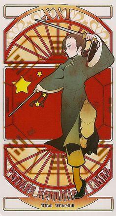 hetalia china comic   China Hetalia Tarot Card Graphics Code   China Hetalia Tarot Card ...