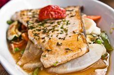 Sautéed fish in dry sauce