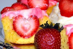 Strawberry Inside a Cupcake