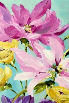Floral detail - fine art painting www.susanpepedesigns.com