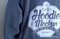 Free Hoodie Mockup PSD | ZippyPixels