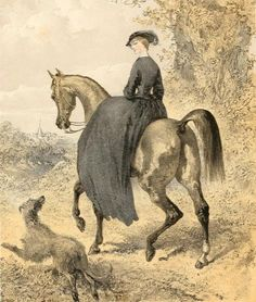 Side Saddles desperately needed! The Side Saddle Association (SSA) has been… Riding Habit, Old Paintings, Horse Paintings, Equestrian Outfits, Equestrian Chic, Side Saddle, Horse Drawings, Horse Art, Show Horses