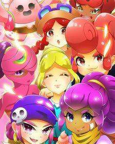 ブロ スタ ペニーかわいい - Google 搜索 Fanart, Cheryl, Grass, My Arts, Iphone, Memes, Google, Anime, Backgrounds