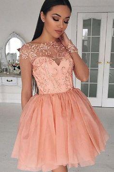 Imagenes de vestidos cortos bonitos