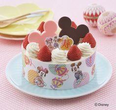 ミッキー&ミニーが乗ってるよ!コージーコーナー「七五三限定デコレーションケーキ」期間限定発売