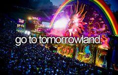 go to tomorrowland