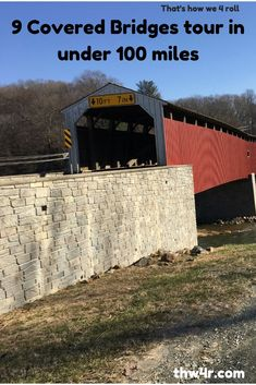 That's a Sunday afternoon drive to see Lancaster County covered bridges Us Road Trip, Road Trip Hacks, Amish Country, Country Roads, Virginia Attractions, Cool Places To Visit, Places To Go, New England Fall, Honeymoon Places