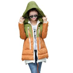 Winter Pregnant Clothes Plus Size XXXL Casual Maternity Coats Winter Cotton-Padded Jacket For Pregnant Women Warm Hooded Outwear Maternity Coats, Maternity Winter Coat, Casual Maternity, Pregnant Clothes, Padded Jacket, Sportswear, Rain Jacket, Windbreaker, Vest