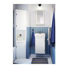 IKEA - HAMNVIKEN, Lavabo, , , Garantie 10 ans gratuite. Détails des conditions disponibles en magasin ou sur internet.Le siphon inclus est flexible et donc facile à raccorder à l'évacuation, au lave-linge et au sèche-linge.
