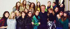 Oggi in Accademia, insieme agli studenti di Fashion Styling, l'incontro con l'attore siciliano Mario Opinato... Chissà perchè?!