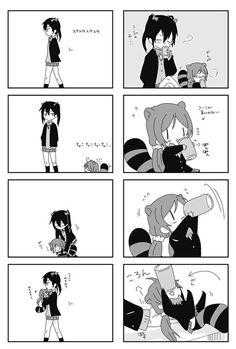 Anime Girlxgirl, Yuri Anime, Kawaii Anime, Love Live Nozomi, Yuri Comics, Beautiful Dark Art, Anime Characters, Fictional Characters, Manga Games