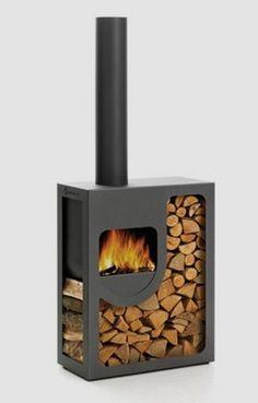 Stove fireplaces and corrugated metal on pinterest - Estructuras de chimeneas ...