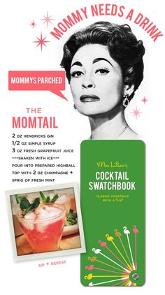 The MomTail / Mrs. Lilien's Cocktail Swatchbook