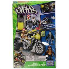 Mega Bloks Ninja Kaplumbağalar Moto Attack Bebop Oyun Seti