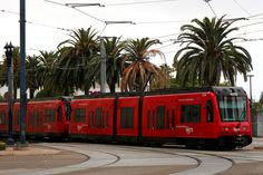 San Diego MTS ~ The Red Trolley | Flickr - Photo Sharing!
