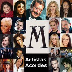 Artistas con M (Lista) canciones con letras y acordes