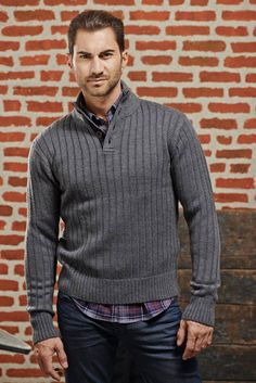 Svetr Jerem | Freeport Fashion Outlet Fashion Outlet, Blues, Men Sweater, Sweaters, Men's Knits, Sweater, Sweatshirts, Pullover Sweaters, Pullover