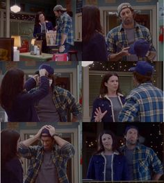 If you've never watched Gilmore Girls, this won't make sense to you, but to me, it's hysterical. :)