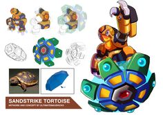 Megaman X9- Sandstrike Tortoise by ultimatemaverickx on DeviantArt
