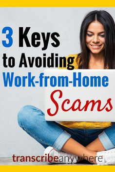 What are the best ways to avoid work-from-home scams? Here are three tips you… Work From Home Tips, Make Money From Home, Way To Make Money, Make Money Online, Home Based Business, Online Business, Business Ideas, Money Matters, Online Jobs
