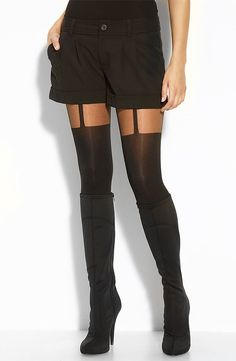 Faux Thigh-Highs