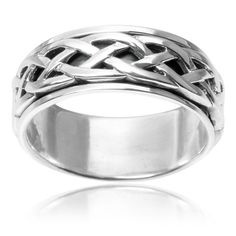 Overstock Cruising http://www.overstock.com/Jewelry-Watches/Vance-Co.-Sterling-Silver-Celtic-Spinner-Band/9074373/product.html?refccid=KN4RVRWP5VLLXPKMWGMHLGSK2Q&searchidx=9