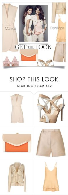 """Penelope & Monica Cruz"" by letiperez-reall ❤ liked on Polyvore featuring Finders Keepers, GUESS, New Look, 3.1 Phillip Lim, Gentryportofino, C/MEO COLLECTIVE, RED Valentino, GetTheLook and celebritysiblings"
