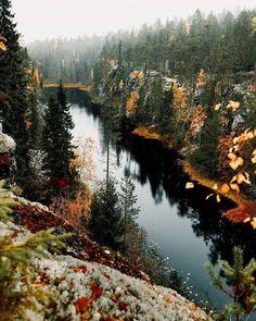 Hiidenportti National Park, Sotkamo, Finland. Photo: Anna-Elina Lahti