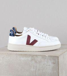 94bad0912eca0 Tendance Sneakers 2018   V-12 leather white marsala nautico. Veja FemmeLooks  FemmeSneakers FemmeChaussure VejaBaskets ...