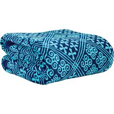 Vera Bradley Throw Blanket - Cuban Tiles - Travel Pillows & Blankets ($49) ❤ liked on Polyvore featuring home, bed & bath, bedding, blankets, blue, vera bradley throw blanket, blue throw, oversized throw, blue throw blanket and blue bedding
