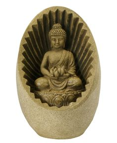 Indoor Buddha Tabletop Fountain with LED light