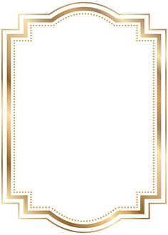 Gold Borders And Frames Clipart - Best Image Border Frame Border Design, Page Borders Design, Free Design, Certificate Background, Certificate Border, Image Border, Boarders And Frames, Vintage Borders, Borders For Paper