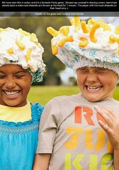 Fantastic party game! One person had a shower cap with whipped cream on their…