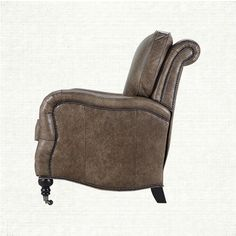 Brooklyn Leather Recliner In Brooklyn High Plains