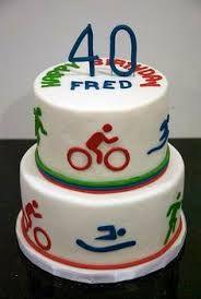 Image result for triathlon cake