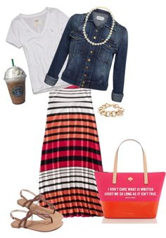 """CUTE """"Easy Going"""" by shortemmi ❤ liked on Polyvore....minus the jewelry."""