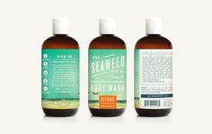 The Seaweed Bath Co. on Packaging of the World - Creative Package Design Gallery