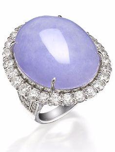 Resultado de imagen para purple jadeite rings
