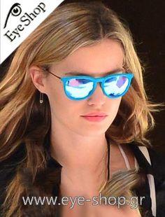 Georgia May Jagger φοράει τα γυαλιά ηλίου Rayban Erika 4171 κλικ στη φωτο για να τα βρείτε