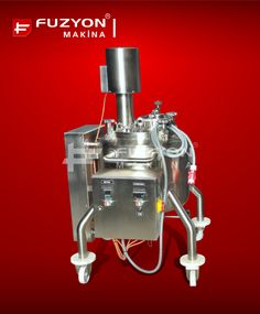Proses Tankı - Rezistanslı Solüsyon Hazırlama Tankı (İlaç) | Füzyon Makina