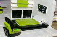"brickadelics: ""2007 - lego master bedroom, double decker house http://ift.tt/16Dmq1T """