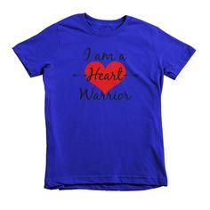 I Am A Heart Warrior Kids' Shirt